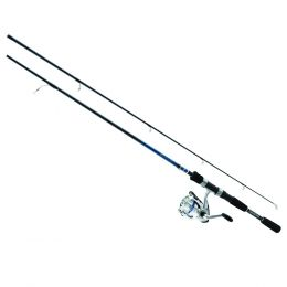 Daiwa D-Shock 2-Piece Spinning Combo 6ft