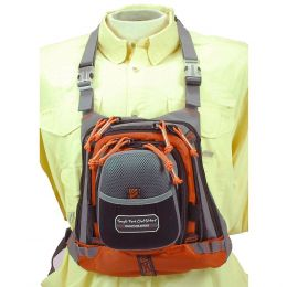 TFO Med Size Chest Pack w/ Front Drop Pocket 13 x 1 1