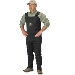 Caddis Mens Neoprene Stockingfoot Waders - Large  Green