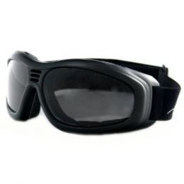 Bobster Touring II Goggle Black Frame AntiFog Smoked Lenses