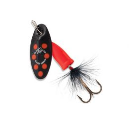 Vibrax Bullet Fly 2 Black/Fluorescent Red