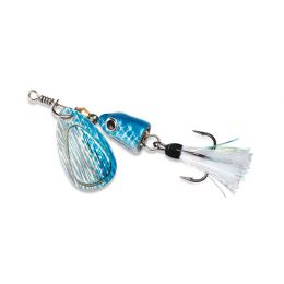 Vibrax Shallow Spinner 3/16  Blue Shad