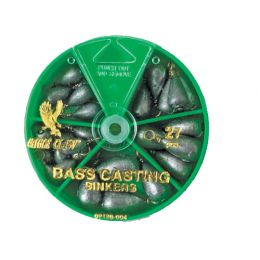 Bass Cast Sinker Assortment 27pcs