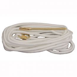 15' Braided Nylon Stringer Wht 1pc