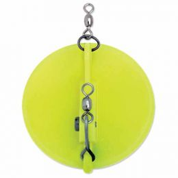 1 Dipsy Diver  Chartreuse / White Bottom