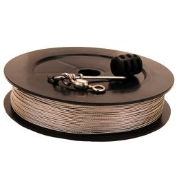 Prem SS Downrigger Cable400 ft spoolkit